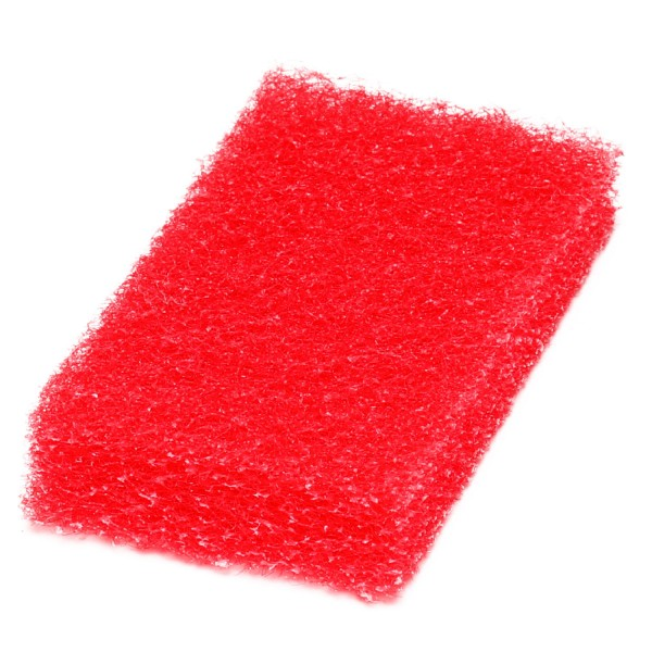 Rotes Super-Reinigungspad klein