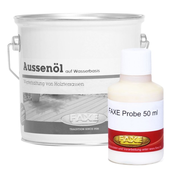 Aussenöl Natur 50 ml Probe