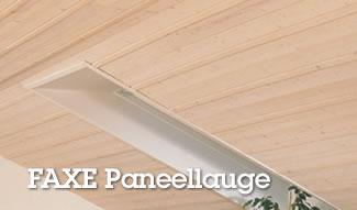 Aufhellung vergilbter Paneele und Deckenholz mit FAXE