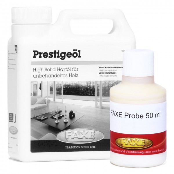 Prestige Öl weiß 50 ml Probe