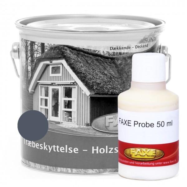 Holzschutzfarbe Dänischblau - 50 ml Probe