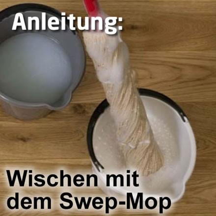 2-Eimer-Wischsystem mit dem Swep-Mopp
