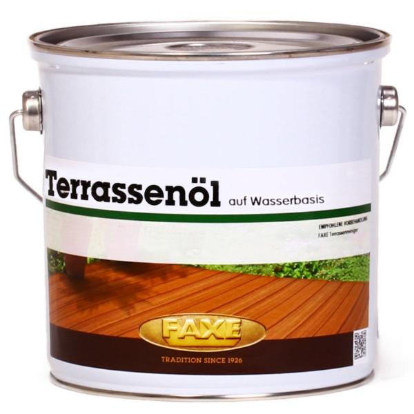 Terrassenöl auf Wasserbasis Natur 2,5 Liter