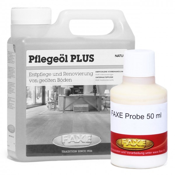 Pflegeöl PLUS weiß 50 ml Probe