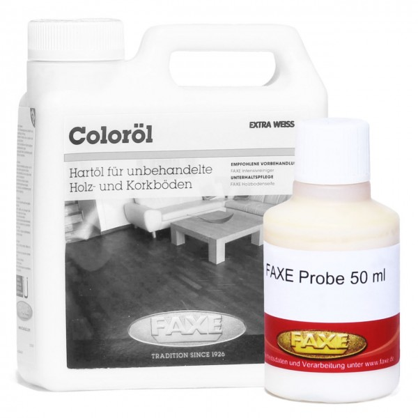 Coloröl extra weiß 50 ml Probe
