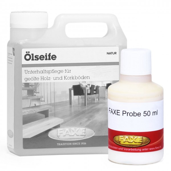 Ölseife weiß 50 ml Probe