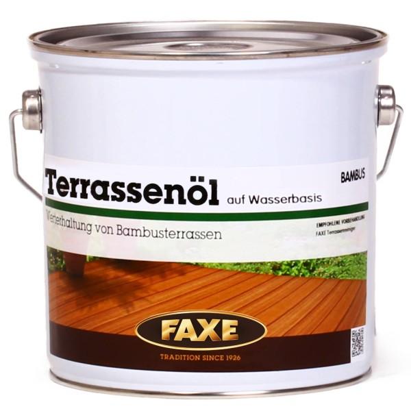 Terrassenöl Bambus 2,5 Liter Wasserbasiert