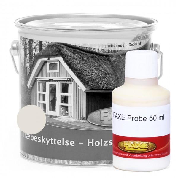 Holzschutzfarbe Weiss RAL 9010 - 50 ml Probe