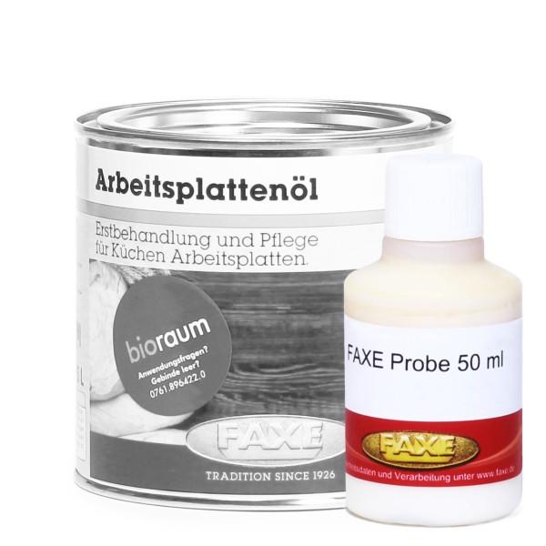 Arbeitsplattenöl braun 50 ml Probe